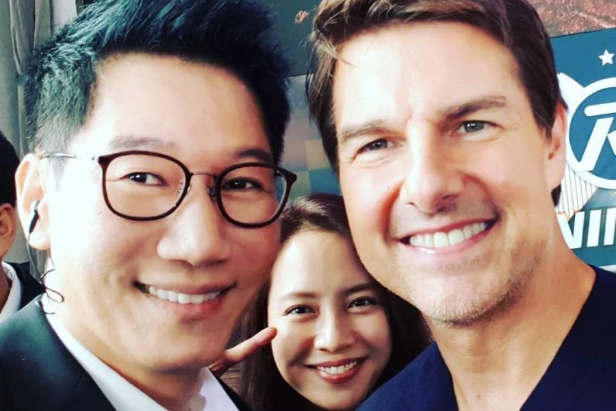 """Ji Suk Jin alaba la personalidad de Tom Cruise después de filmar """"Running Man"""" juntos"""