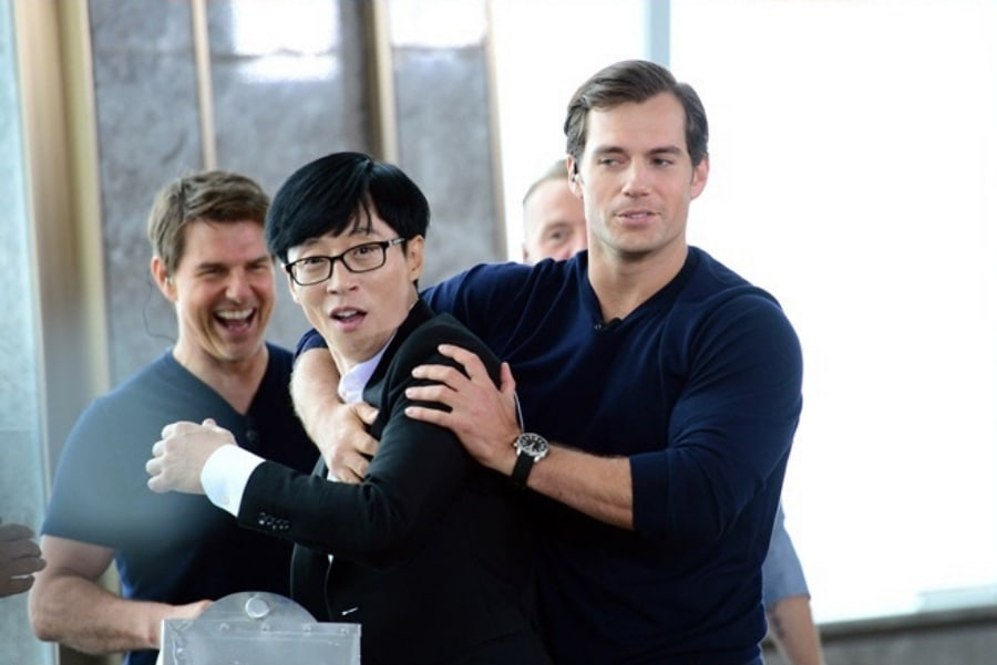 """Tom Cruise y el elenco de """"Mission: Impossible"""" impresionan a los miembros de """"Running Man"""" con su racha competitiva"""