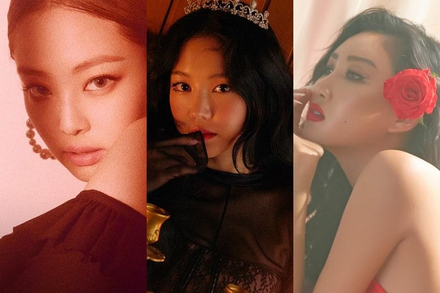 Se revela el ranking de reputación de marca para miembros individuales de grupos femeninos para el mes de julio