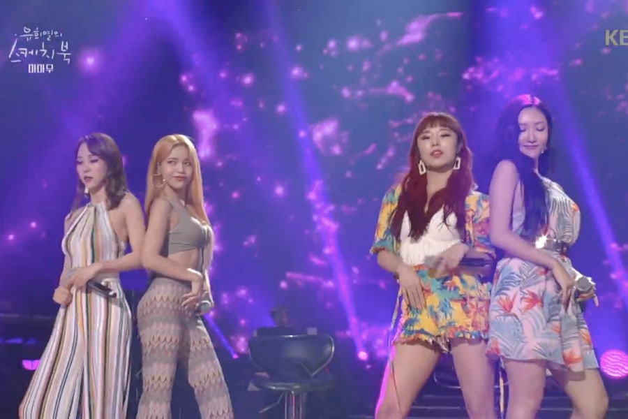 "MAMAMOO impresiona con un mix de ""Havana"" y ""Starry Night"""