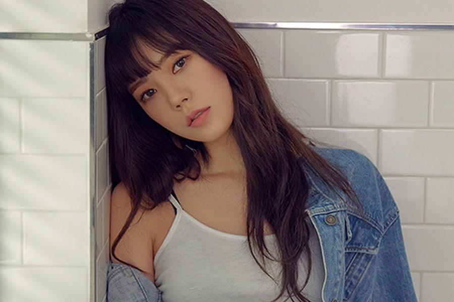 Park Soo Ah habla sobre cambiar su nombre Lizzy, de su carrera de actuación y After School