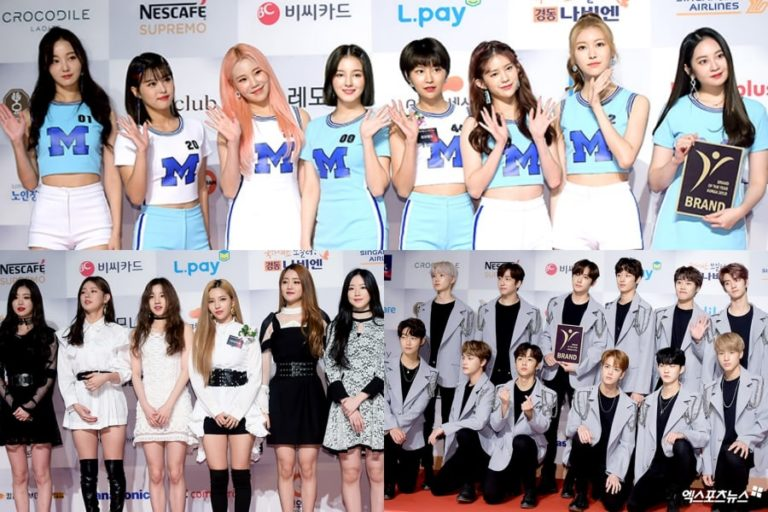 MOMOLAND, (G)I-DLE, The Boyz, y más ganan los premios 2018 Brand Of The Year Awards