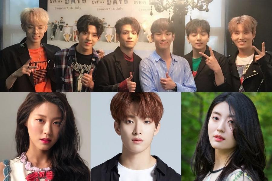 27 celebridades que han mostrado amor por DAY6 y su música