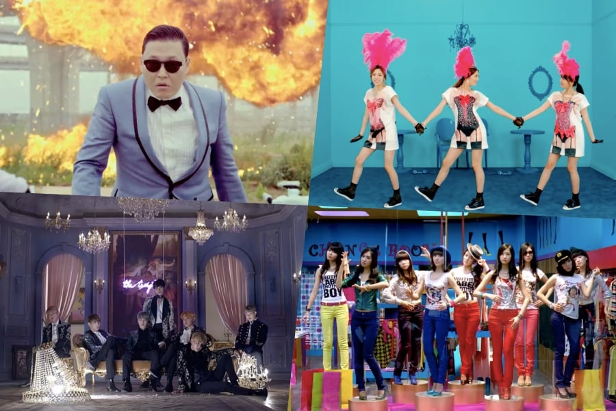 PSY, Orange Caramel, BTS y Girls' Generation nombrados en la lista Billboard de los 100 mejores MVs del siglo XXI