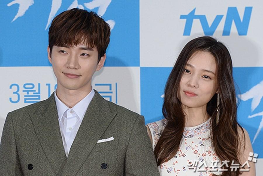 """Junho de 2PM le envía a Yoon So Hee un camión de café al set de """"Witch's Love"""""""