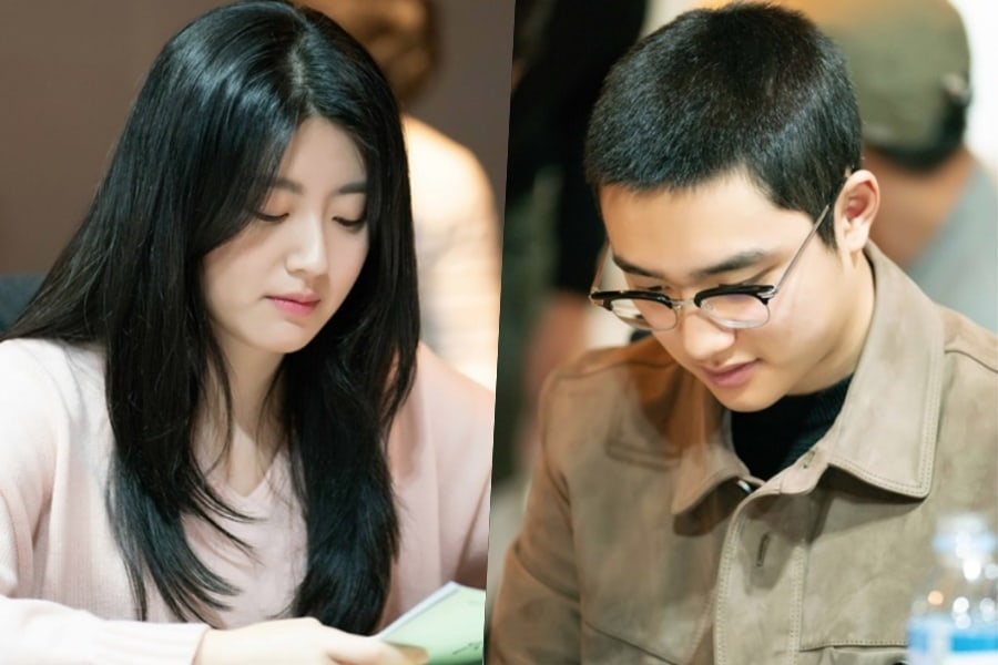 Se revelan fotos de la primera lectura de guión de nuevo drama protagonizado por Nam Ji Hyun y D.O de EXO