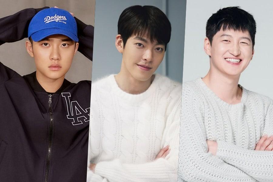 Kim Woo Bin envía un camión de café para mostrar apoyo a D.O. de EXO y Jung Soo Kyo