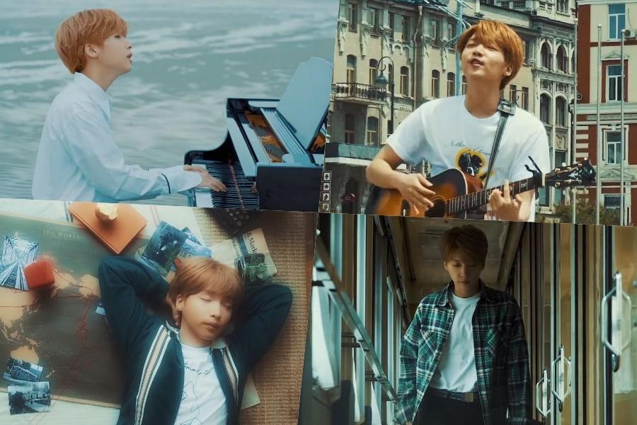 """Jeong Sewoon comparte historias de la grabación del vídeo musical para """"20 Something"""" en Rusia"""