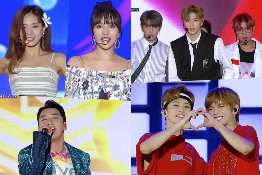 "TWICE, Wanna One, Seungri, NCT 127 y más actúan en el episodio especial de ""Music Core"""