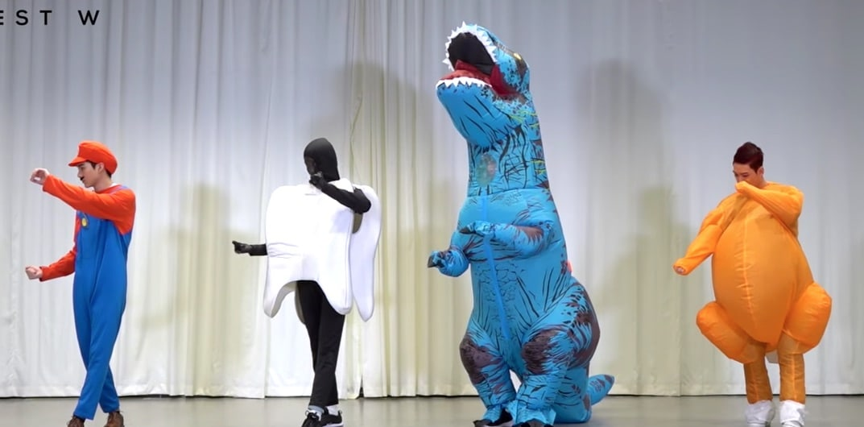 NU'EST W mantiene su promesa tras ganar en programas musicales con un divertido vídeo de práctica