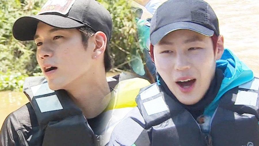 """""""Law of the Jungle"""" logra la audiencia más alta con la aparición de Ong Seong Woo y Ha Sung Woon de Wanna One"""