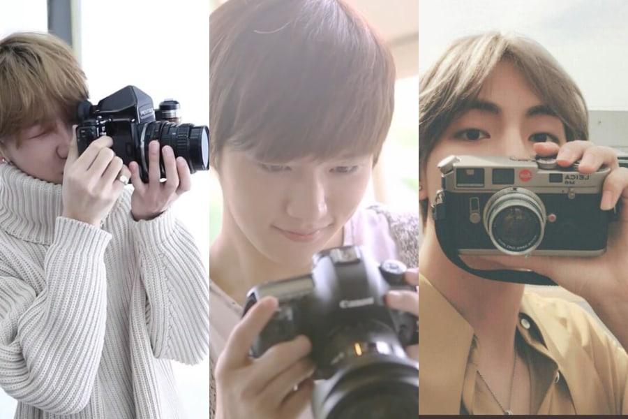 8 ídolos K-Pop que podrían ser fotógrafos profesionales