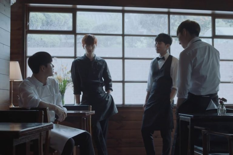 "BTOB-BLUE canta ""When It Rains"" en el MV de su primer regreso"