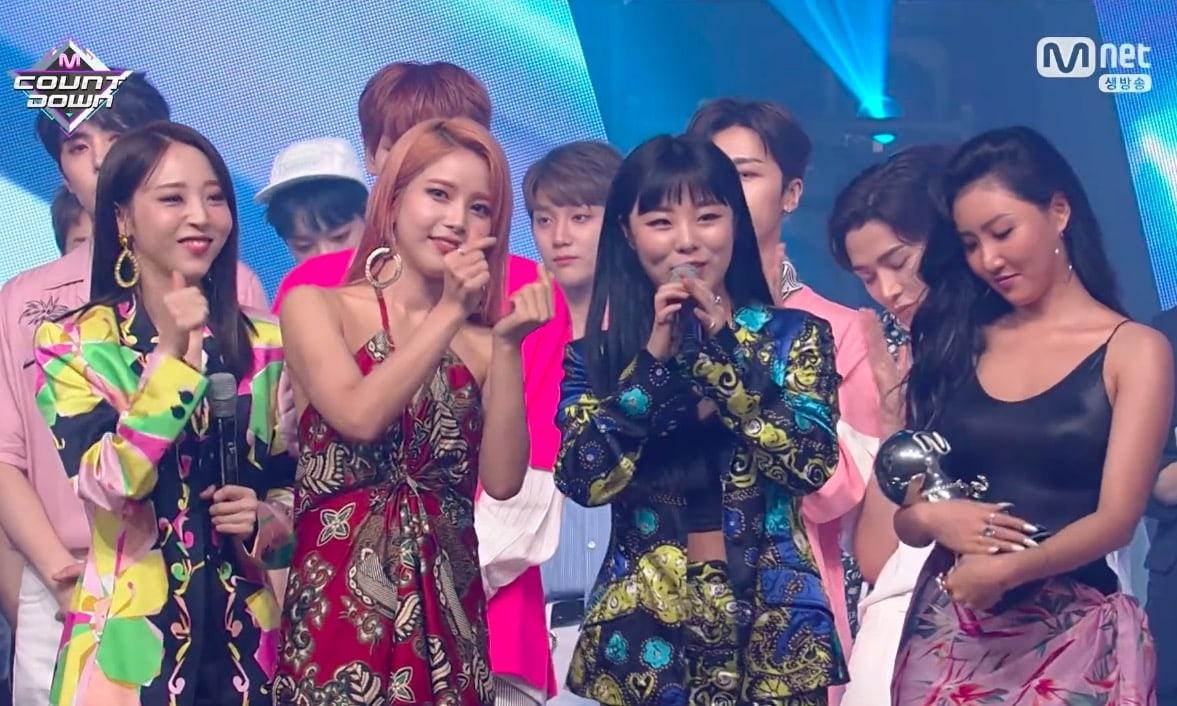 """MAMAMOO obtiene segunda victoria para """"Egotistic"""" en """"M!Countdown"""" – Presentaciones de SEVENTEEN, KARD y más"""