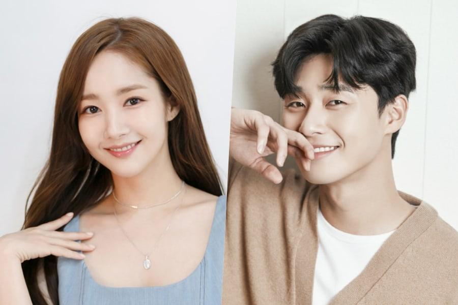 Park Min Young se sincera sobre rumores de citas con Park Seo Joon
