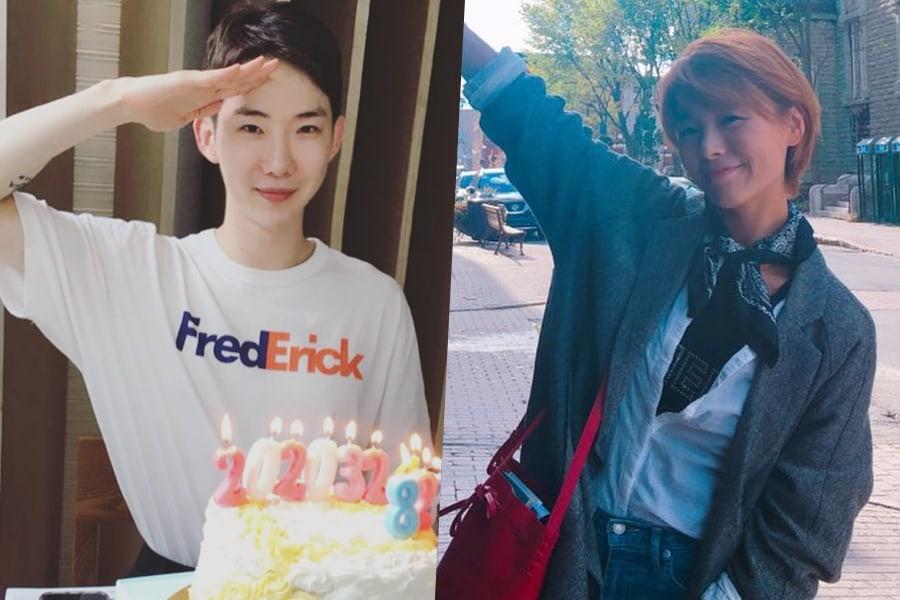 Jo Kwon de 2AM se reúne con Sunye antes de enlistarse en el ejército