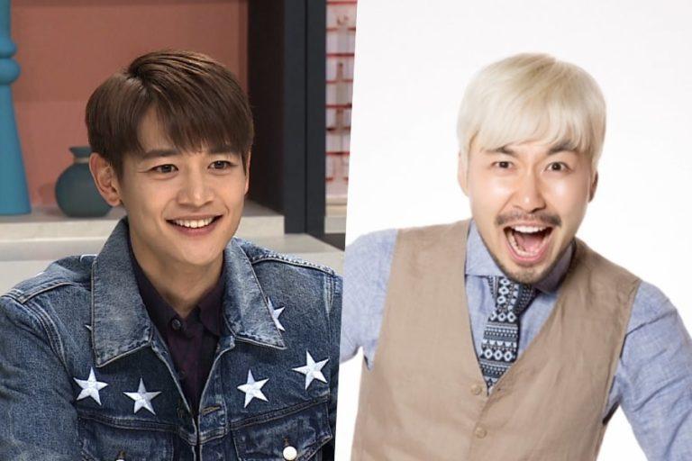 """Minho de SHINee y Noh Hong Chul se convierten en MCs especiales para """"Music Core"""""""