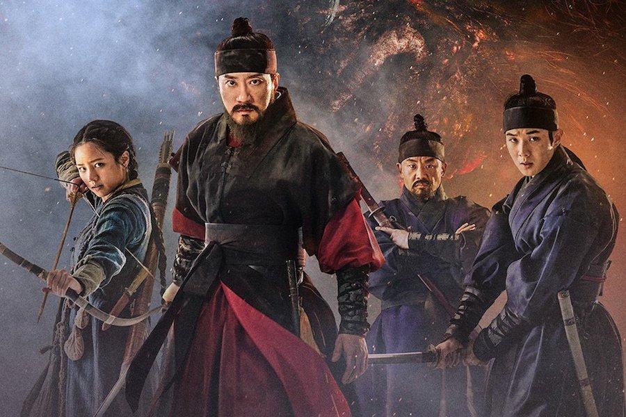 Kim Myung Min y Hyeri de Girl's Day se enfrentan a un terrorífico monstruo en póster de nueva película + Se revela tráiler