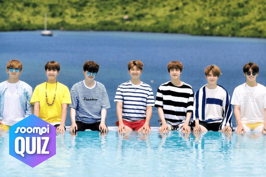 Prueba: ¿Con qué miembro de BTS deberías ir de vacaciones?
