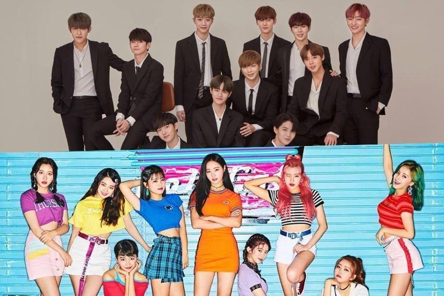 Wanna One y MOMOLAND son oficialmente certificados platino por Gaon Chart