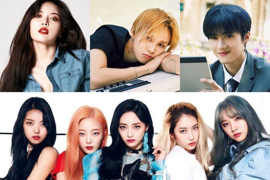 La línea del concierto INK anuncia cambios relacionados con HyunA, E'Dawn y Yan An de PENTAGON y PRISTIN V