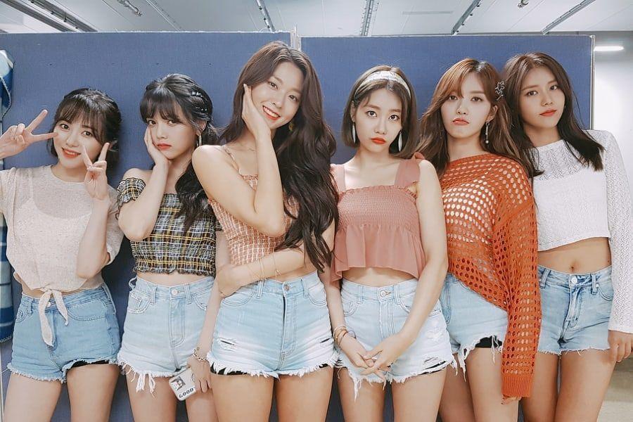 Las miembros de AOA celebran el 6º aniversario del grupo