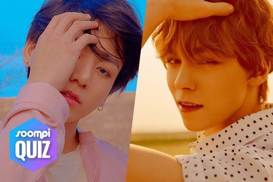 Prueba: ¿Con qué ídolo del K-Pop pasarás las vacaciones de verano?