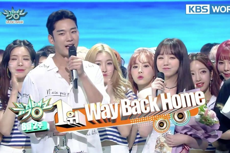 "Shaun consigue su primera victoria con ""Way Back Home"" en ""Music Bank"" y actuaciones de Red Velvet, DIA y más"