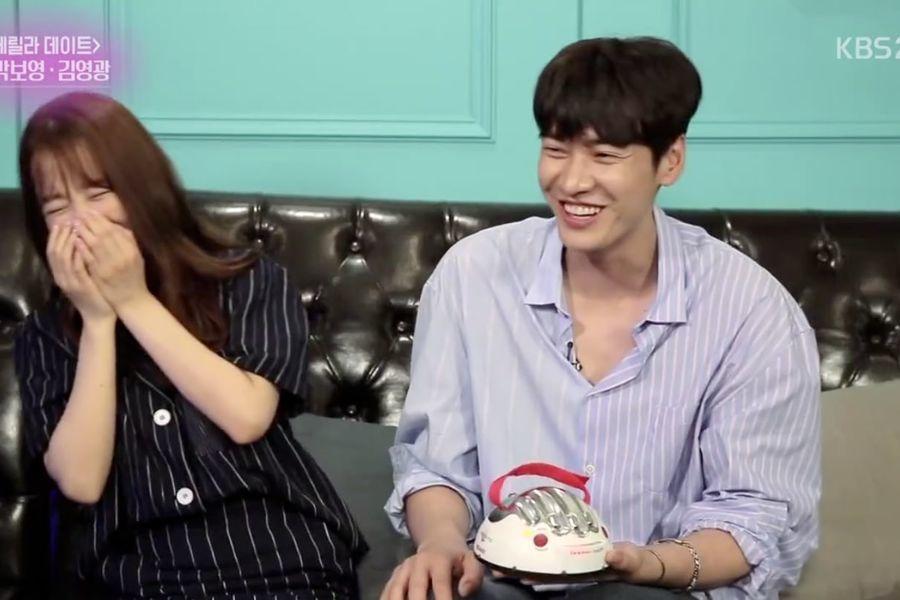 Park Bo Young y Kim Young Kwang juegan al detector de mentiras, hablan sobre la diferencia de estatura y mucho más