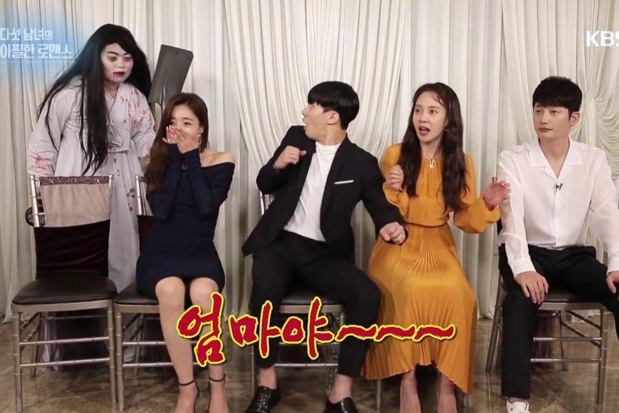 """El elenco de """"Lovely Horribly"""" describe el drama y le hacen broma durante entrevista"""
