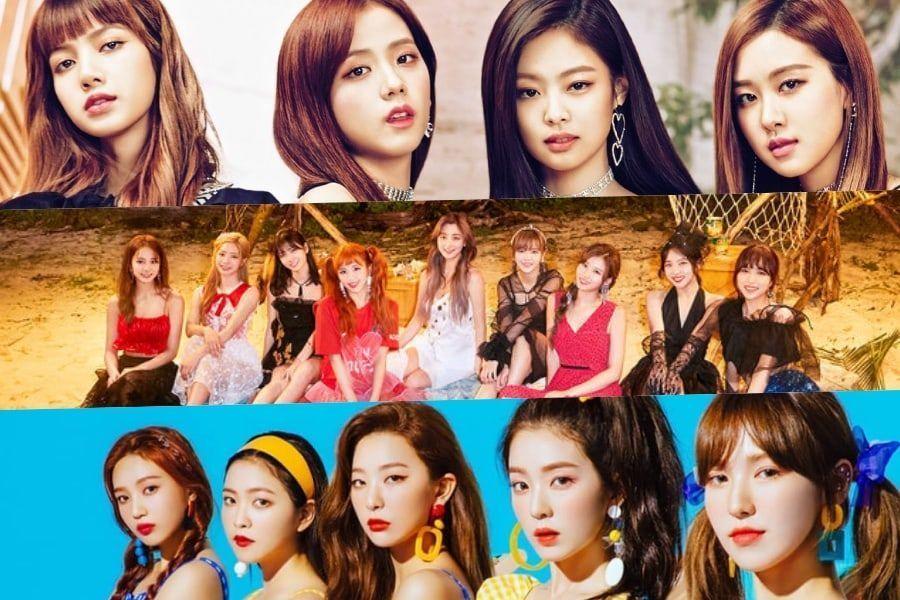 Se revela el ranking de reputación de marca para grupos de chicas del mes de agosto