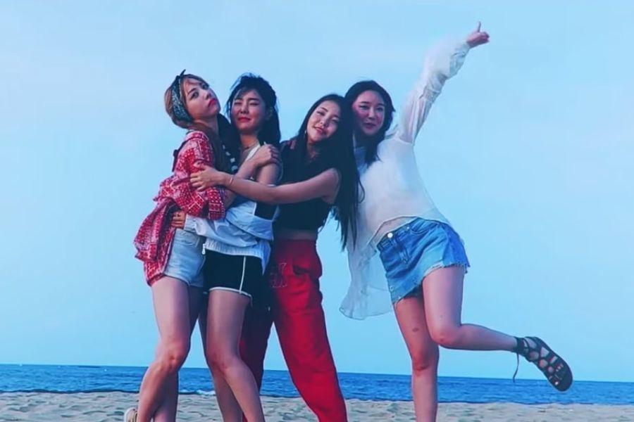 """Brave Girls disfruta unas divertidas vacaciones en video musical para la nueva versión de """"Rollin'"""""""