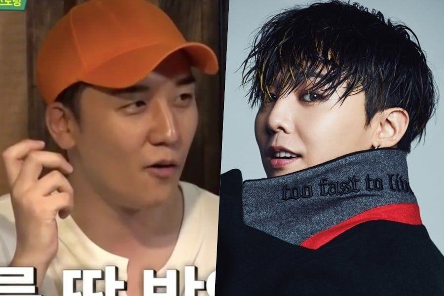 Seungri de BIGBANG habla sobre la popularidad de G-Dragon entre los grupos femeninos