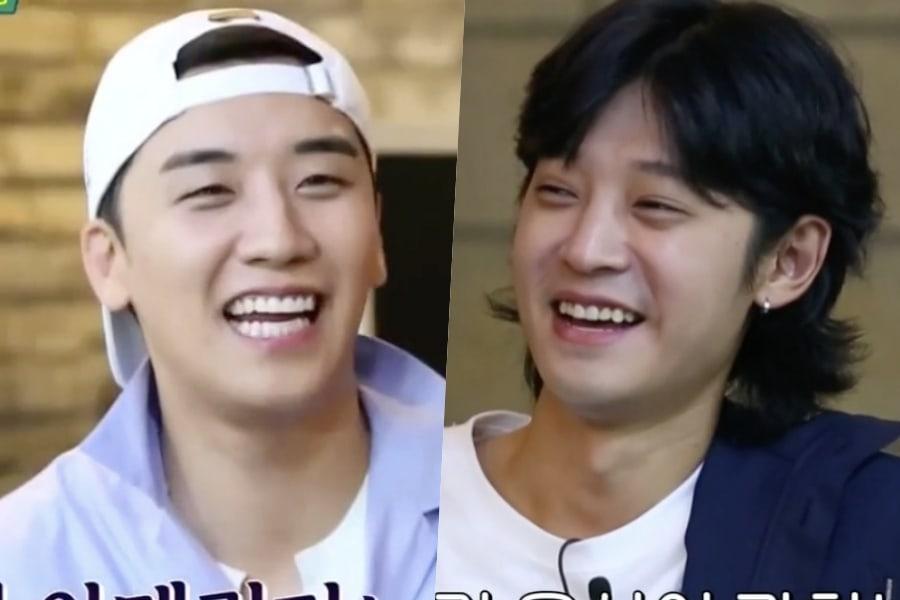 Seungri de BIGBANG y Jung Joon Young cuentan sobre el estilo de citas del otro