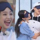 """Jennie de BLACKPINK y Song Ji Hyo se asustan divertidamente durante un juego en """"Running Man"""""""