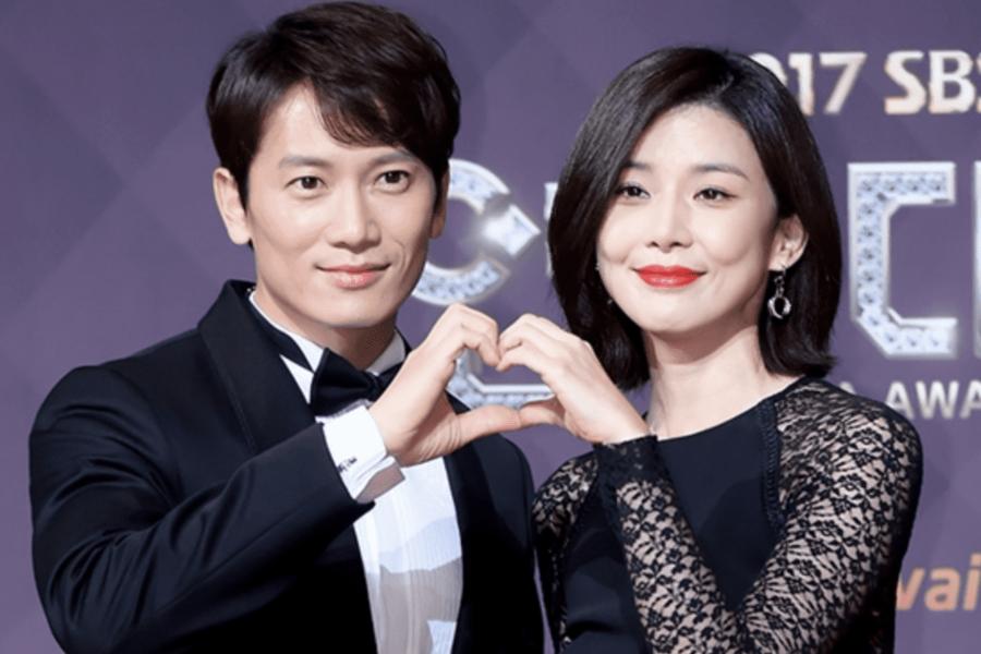 Ji Sung y Lee Bo Young revelaron estar esperando su segundo hijo
