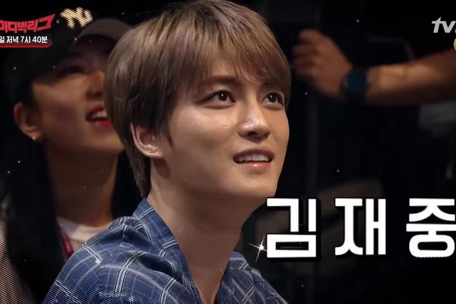 """Kim Jaejoong hace una aparición sorpresa en audiencia de """"Comedy Big League"""""""