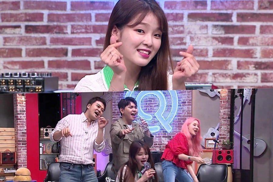 """Seunghee de Oh My Girl sorprende a todos con su habilidad de resolución en el concurso de """"Unexpected Q"""""""