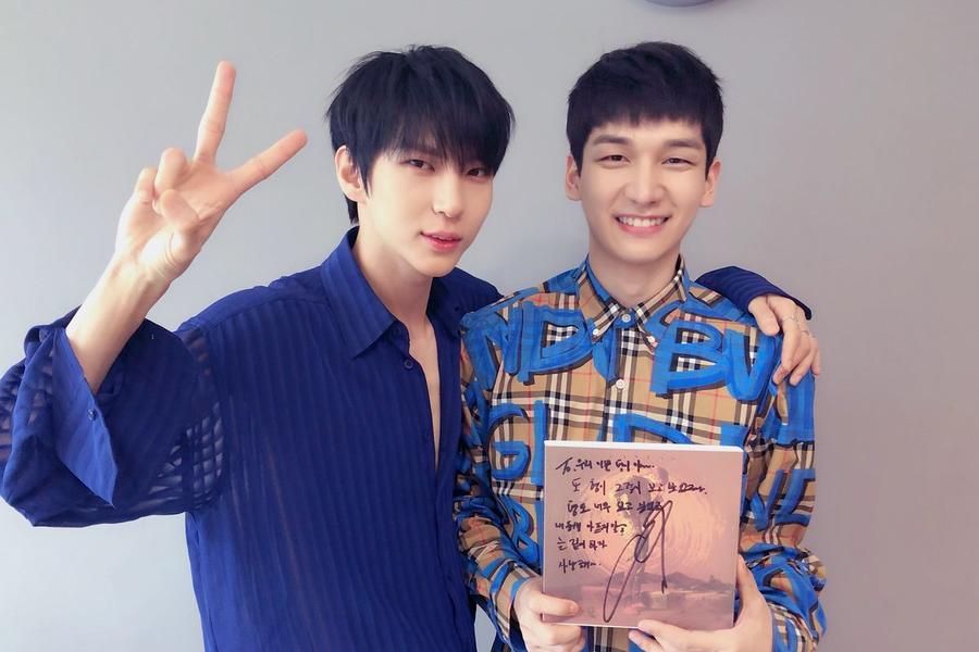 Leo escribe una dulce carta a su compañero Hyuk de VIXX como apoyo por el final de sus actividades en solitario
