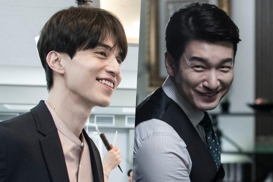 "Lee Dong Wook y Cho Seung Woo lucen sonrientes en escenas del detrás de cámaras para ""Life"""