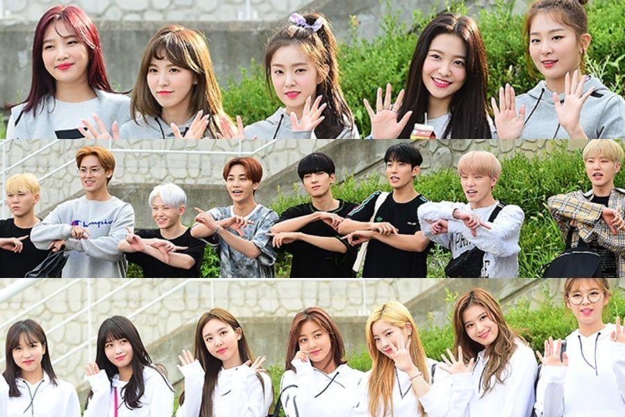 """Ídolos se dirigen a la filmación del """"2018 Idol Star Athletics Championships – Chuseok Special"""""""