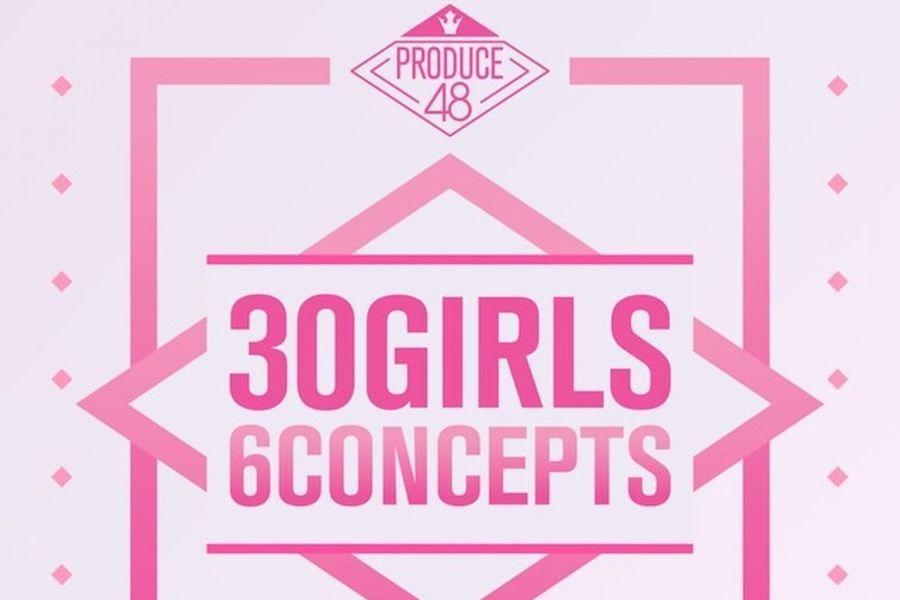 """Canciones concepto de """"Produce 48"""" reciben amor + las trainees se presentarán en """"M!Countdown"""""""