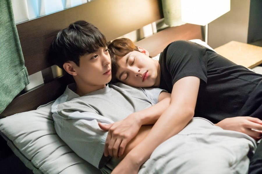 """Hyun Woo y Hongbin de VIXX se pelan por una manta en """"Witch's Love"""""""