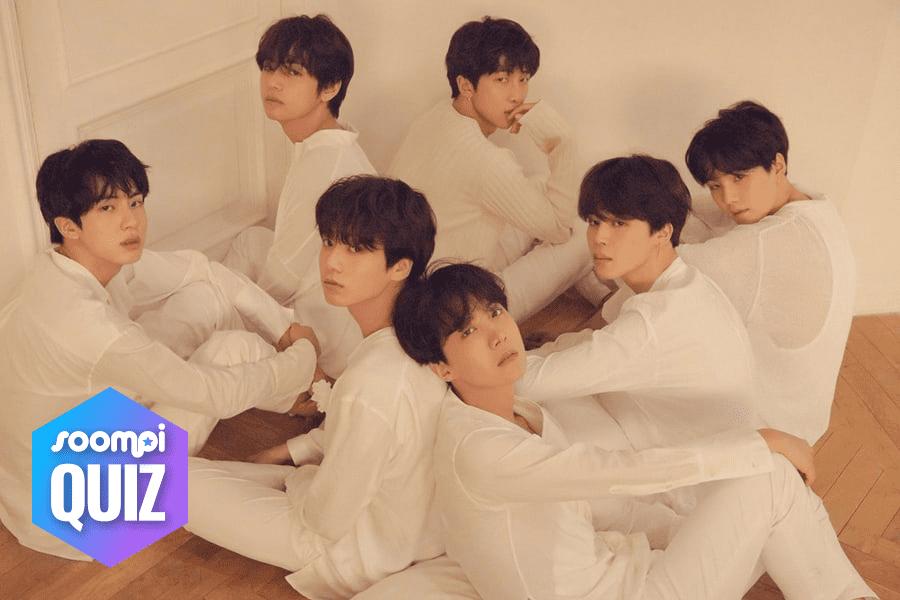 """Prueba: ¿Puedes identificar la canción de """"Love Yourself: Tear"""" de BTS a partir de sus letras?"""
