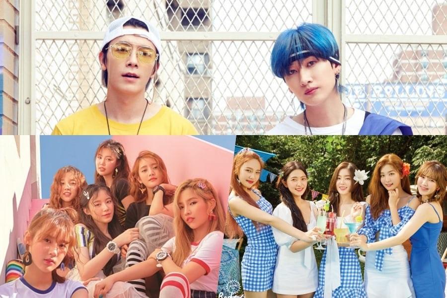 Super Junior D&E, (G)I-DLE y Red Velvet lideran las listas semanales de Gaon