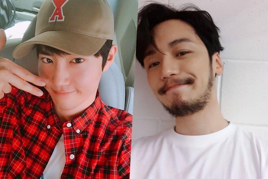 """Suho de EXO anima a su buen amigo Byun Yo Han enviando comida al set de """"Mr. Sunshine"""""""