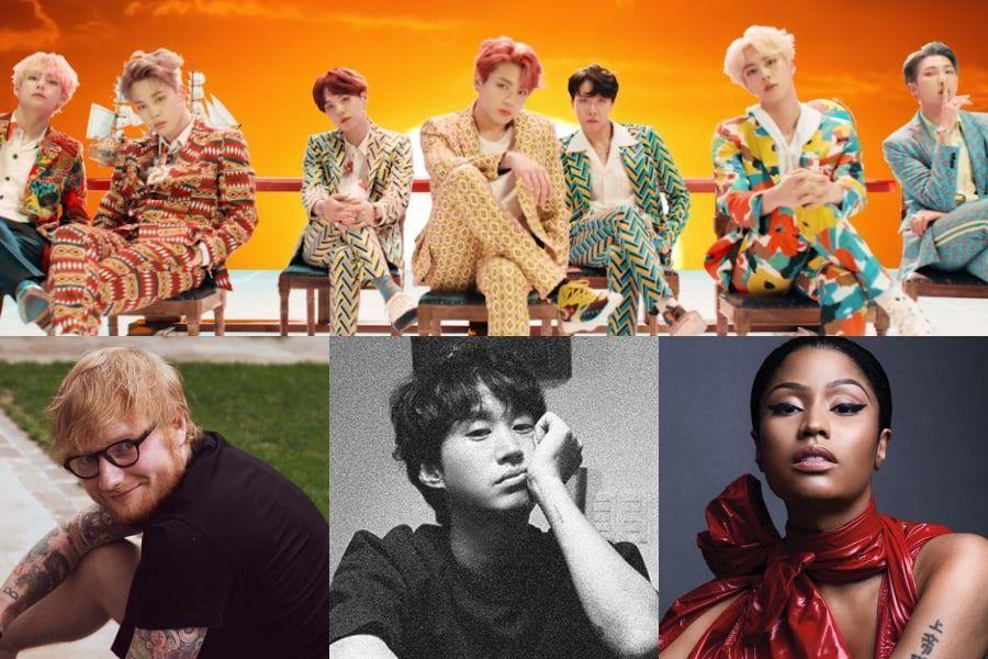"""Las celebridades se unen al tren de la emoción por el fantástico regreso de BTS con """"IDOL"""""""