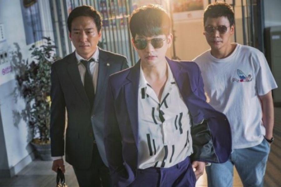 """Park Shi Hoo ingresa con aires de fanfarrón para salvar a Song Ji Hyo de la comisaría en """"Lovely Horribly"""""""