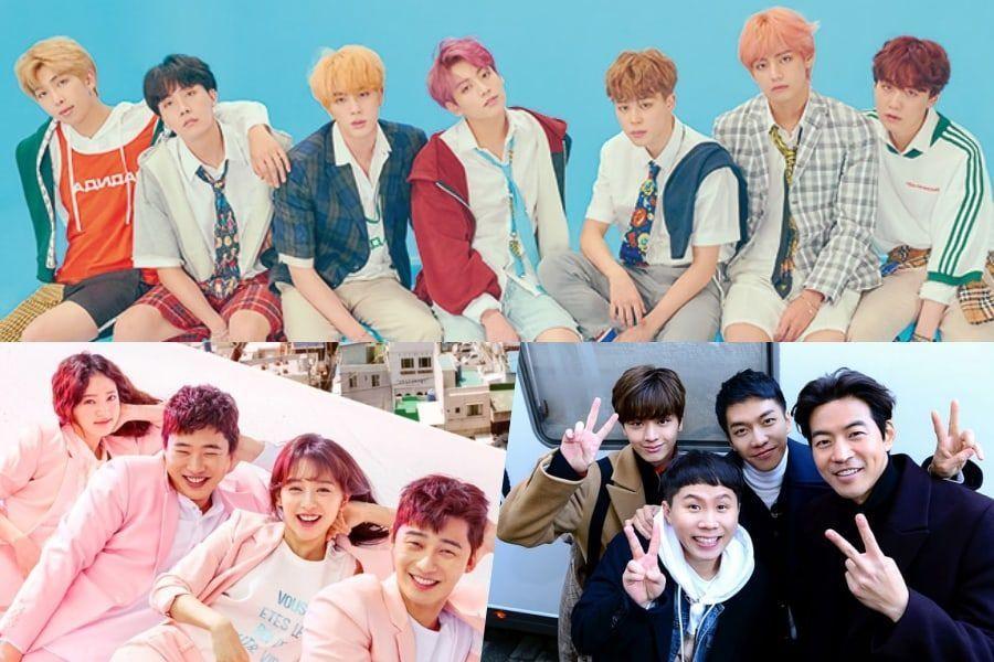 """BTS, """"Fight My Way"""", """"Master In The House"""" y más son los ganadores de los 45th Korean Broadcasting Awards"""