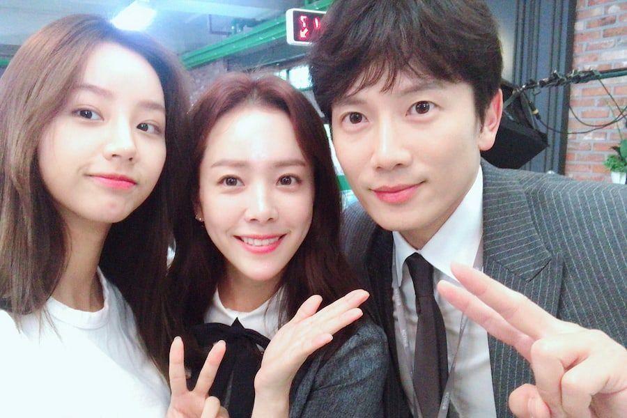 """Han Ji Min y Ji Sung agradecen a Hyeri por su apoyo a """"Familiar Wife"""""""